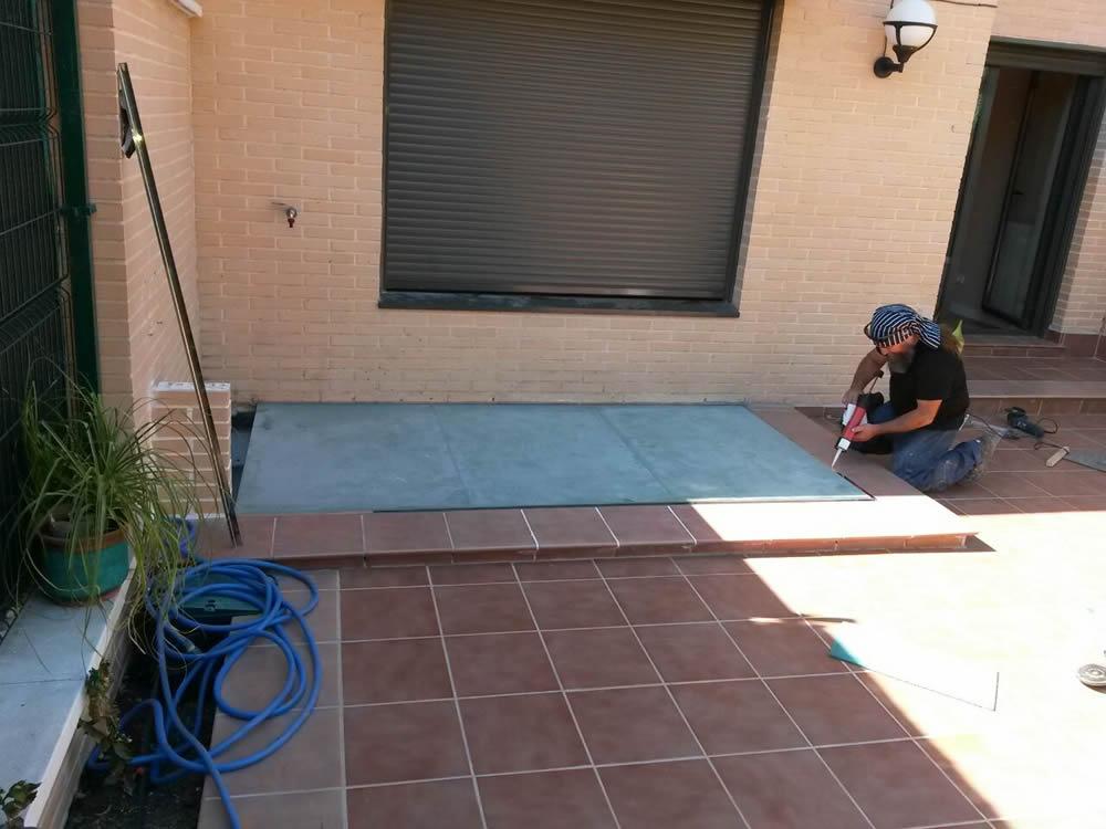 Instalacion y montaje de suelos de vidrio en madrid - Suelos de vidrio ...